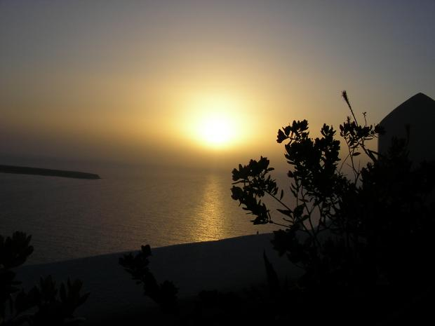 Zonsondergang in Oia