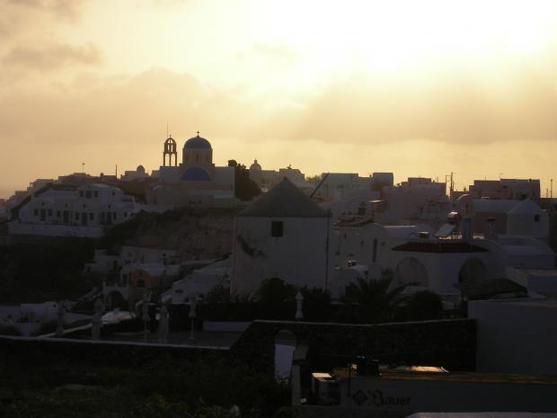 Uitzicht balkon Aspa Villas