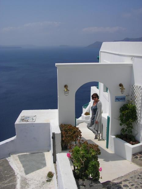 Mooi huis Santorini