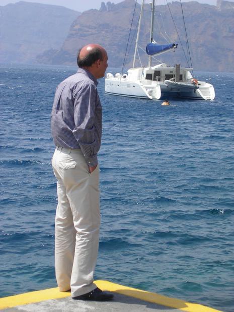Zeezicht Santorini