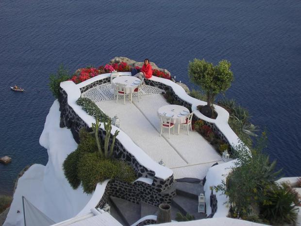 Balkon hotel Andronis
